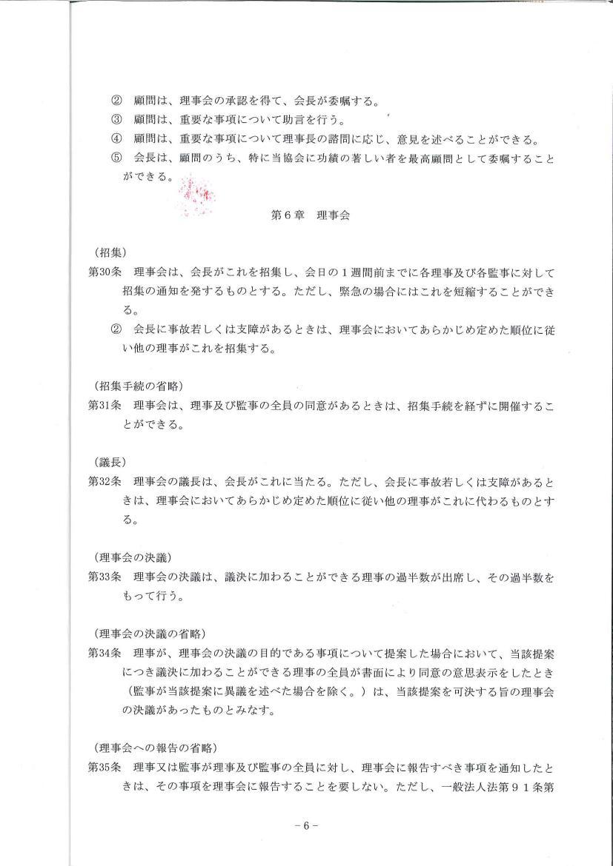 団体の定款 -Page6-